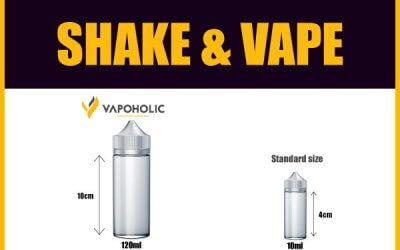 Shake & Vape Shortfill e-Liquids