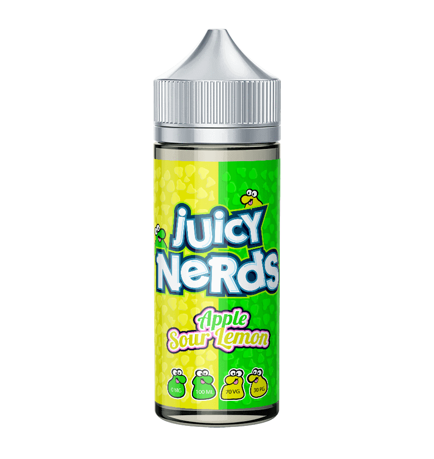 Juicy Nerds Apple Sour Lemon