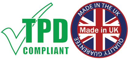 E Liquid Vapoholic TPD UK made