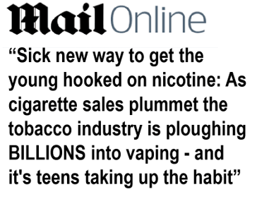 Daily Mail Can't Seem to Make Up Its Mind About Vaping