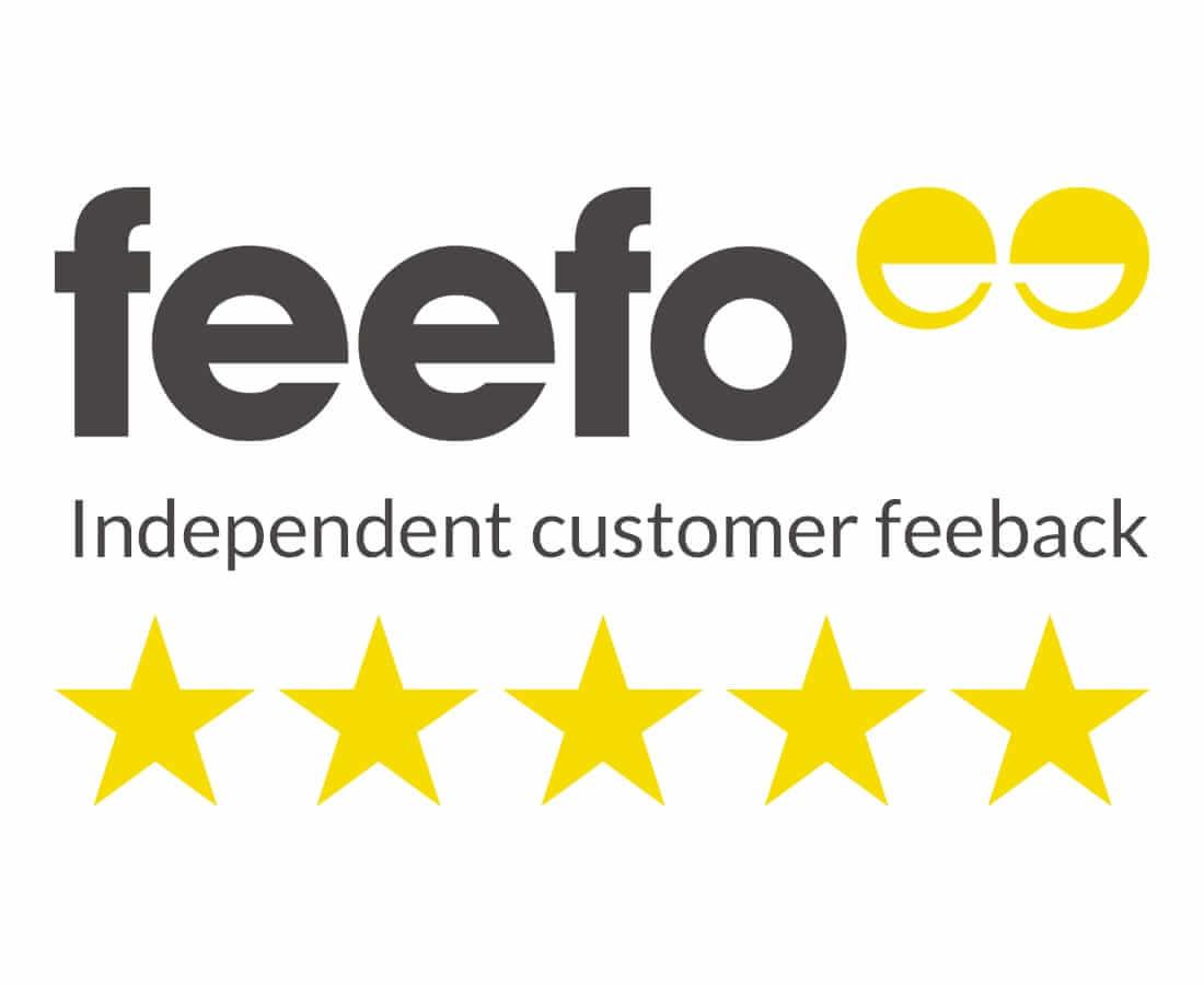 Vapoholic Feefo Logo