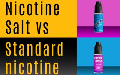Nicotine Salt vs Freebase