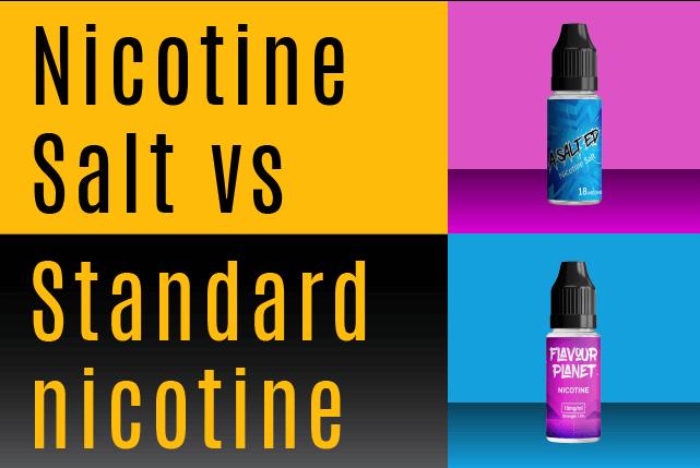 Nicotine freebase nicotine salt