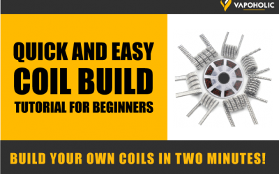 How to Build Your Own Vaping Coil