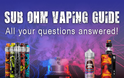 Sub Ohm Vaping Guide: All Your Questions Answered