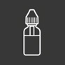 e liquid bottle icon