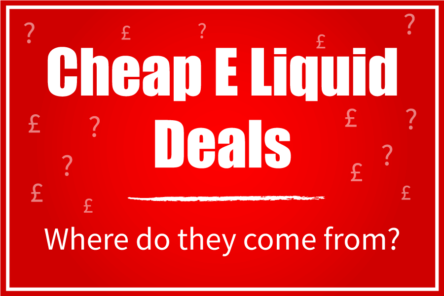 cheap e liquid deals