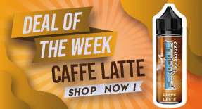caffe latte e liquid sale deal