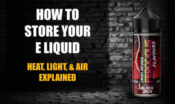 how to store e liquid