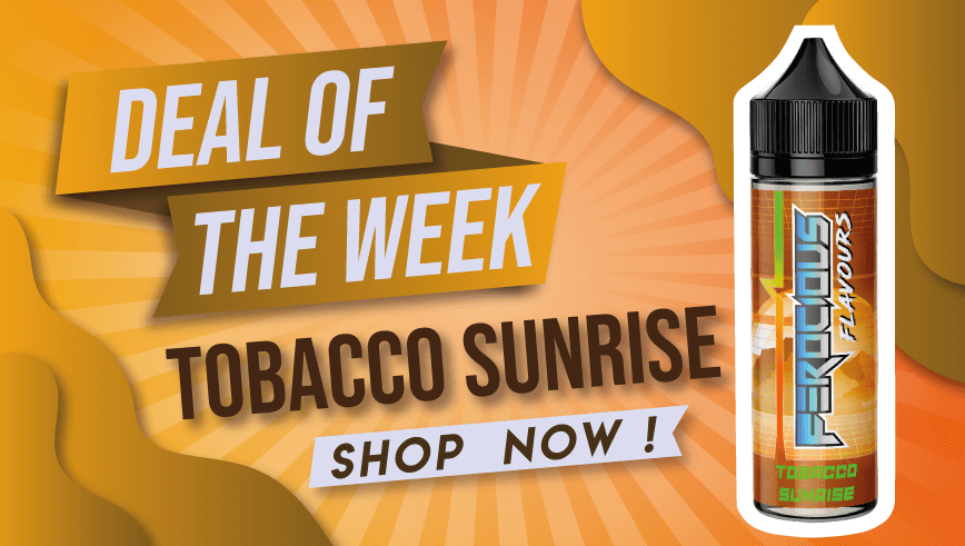 tobacco sunrise e liquid juice deal save