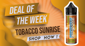 tobacco sunrise e liquid deal save