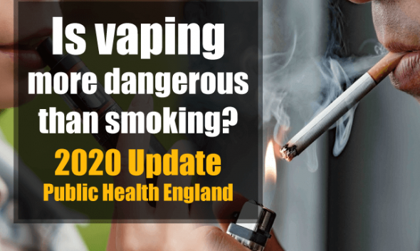 vaping safer than smoking