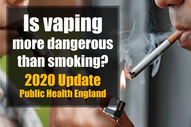 vaping safer than smoking