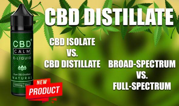 cbd isolate vs distillate 1000mg